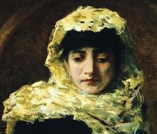 Lega, Ritratto di gabbrigiana [dettaglio] | Portrait of woman from Gabbro [detail]
