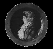 Silvestro Lega, Ritratto femminile