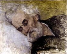 Lega, Studio di testa per 'Gli ultimi momenti di Giuseppe Mazzini'.jpg