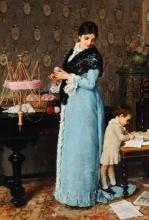 Silvestro Lega, Una madre