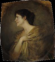 Lenbach Franz von, Mary Stuck (nata Lindpaintner)