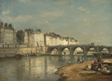 Lepine, Pont de la Tournelle, Parigi.jpg