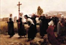 Lhermitte, Il pardon di Ploumanac'h | Le pardon de Ploumanac'h | The pardon of Ploumanac'h