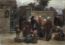 Lhermitte, Il pardon di Plourin, Bretagna | Le pardon de Plourin, Bretagne | The pardon of Plourin, Brittany