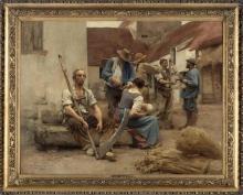Lhermitte, La paga dei mietitori | La paye des moissonneurs | The pay of the reapers