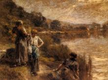 Lhermitte, Tre lavandaie | Trois lavandières | Three washerwomen