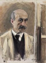 Max Liebermann, Autoritratto | Selbstbildnis [1914]