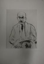 Liebermann, Autoritratto a 70 anni | Selbstbildnis als 70-jähriger | Autoportrait à 70 ans | Self portrait as a 70-year-old