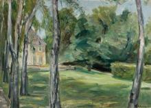 Max Liebermann, Casa nel giardino | Dům v zahradě | House in the garden