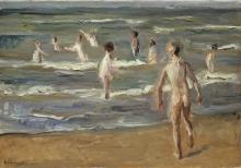 Liebermann, Ragazzi che fanno il bagno | Badende Jungen | Boys bathing