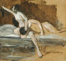 Max Liebermann, Sansone e Dalila | Samson und Delila