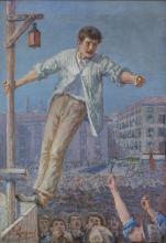 Emilio Longoni, L'oratore dello sciopero