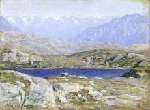 Emilio Longoni, Laghetto del Bernina