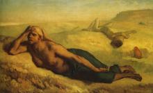 MIllet, Agar e Ismaele [1848-1849].png