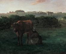 MIllet, Donna che munge una mucca.png