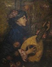 Mancini (attribuito a), Giovane donna con la chitarra.jpg