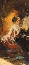 Mancini (attribuito a), Signora al pianoforte.jpg