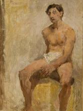 Antonio Mancini, Accademia d'uomo