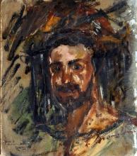 Antonio Mancini, Autoritratto