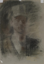 Mancini, Autoritratto [1883 circa] [retro].jpg