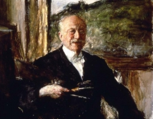 Antonio Mancini, Autoritratto [1923]