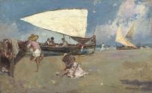 Mancini, Bambini su una spiaggia assolata | Children on a sunny beach
