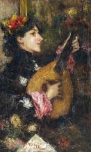 Mancini, Donna con mandolino.jpg