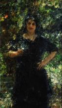 Mancini, Figura femminile in giardino.png