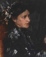 Mancini, L'abito orientale [dettaglio] | The Oriental robe [detail]