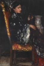 Mancini, L'abito orientale | The Oriental robe