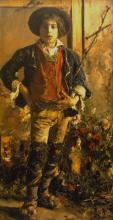 Antonio Mancini, Pastorello in ciocie