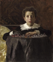Mancini, Ragazzo con i soldatini | Boy with toy soldiers