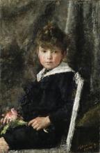 Mancini, Ritratto di Gérome Caccamisi   Portrait of Gérome Caccamisi