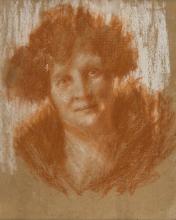 Antonio Mancini, Ritratto di donna