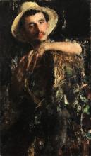 Antonio Mancini, Ritratto maschile [1891]