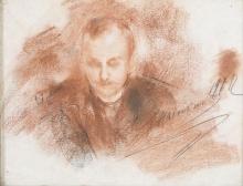 Antonio Mancini, Ritratto maschile [1912]
