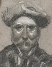 Antonio Mancini, Ritratto maschile
