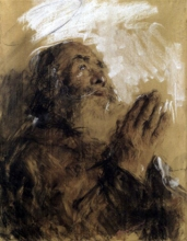 Mancini, Santo in preghiera.jpg