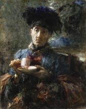 Mancini, Vecchia che beve tè | Old woman drinking tea