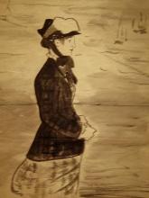 Manet, Annabel Lee. Donna sulla spiaggia.jpg