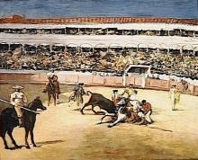 Manet, Combattimento di tori [2].jpg