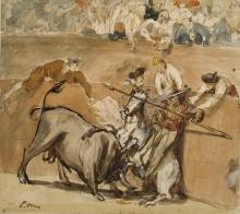 Manet, Combattimento di tori [3].jpg