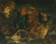Manet, Copia de 'La barca di Dante' di Delacroix [2].png