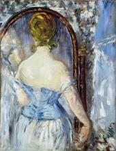 Manet, Davanti allo specchio.jpg