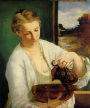 Manet, Donna con brocca | Femme à la cruche | Woman with a jug