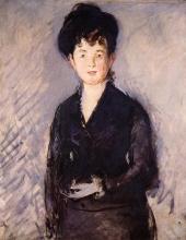 Manet, Donna con spilla d'oro.jpg