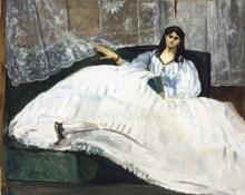 Manet, Donna con ventaglio | Dame à l'éventail | Lady with a fan