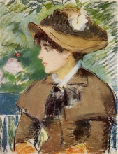 Manet, Donna su una panchina.jpg
