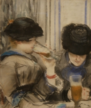 Manet, Donne che bevono birra.jpg