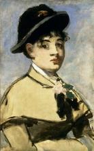 Manet, Giovane donna con mantellina.jpg
